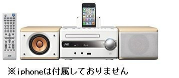 Victor iPod/iPhone対応コンポ EX-S3-M NA-W