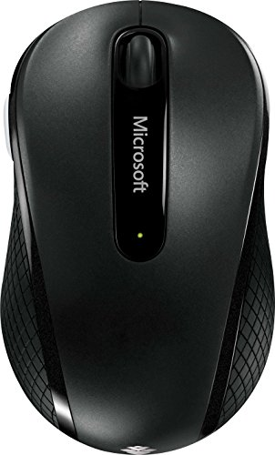 BlueLEDマウス(ワイヤレス) マイクロソフト Wireless Mobile Mouse 4000 D5D-00014(ストーン ブラック)