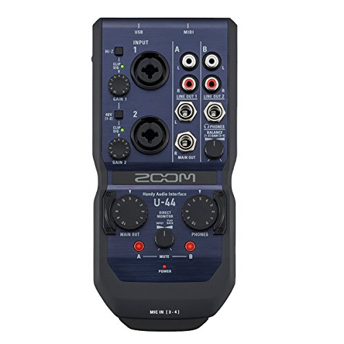USBオーディオ・インターフェース ZOOM Handy Audio Interface U-44
