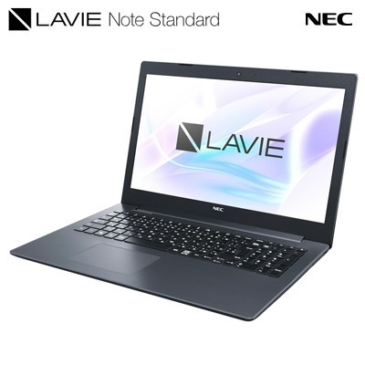 NEC LAVIE Note Standard NS300/MAB PC-NS300MAB ブラック(15.6インチ/Core i3/4GB/1TB HDD + 16GB Optaneメモリ)ノートPC