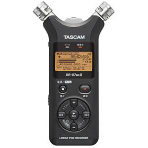 TASCAM ICレコーダー DR-07MKII VER2