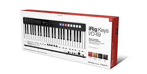 MIDIキーボード・コントローラー IK Multimedia iRig Keys I/O 49