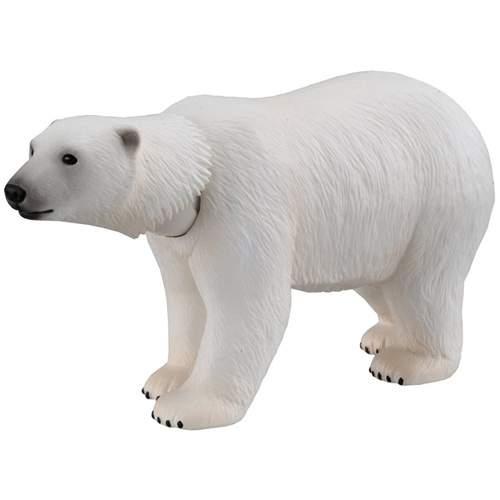 アニア AS-10 ホッキョクグマ 図鑑カード付属 動物 どうぶつフィギュア シロクマ 人形 永遠の定番モデル 白熊 しろくま タカラトミー アニマルアドベンチャー 定価