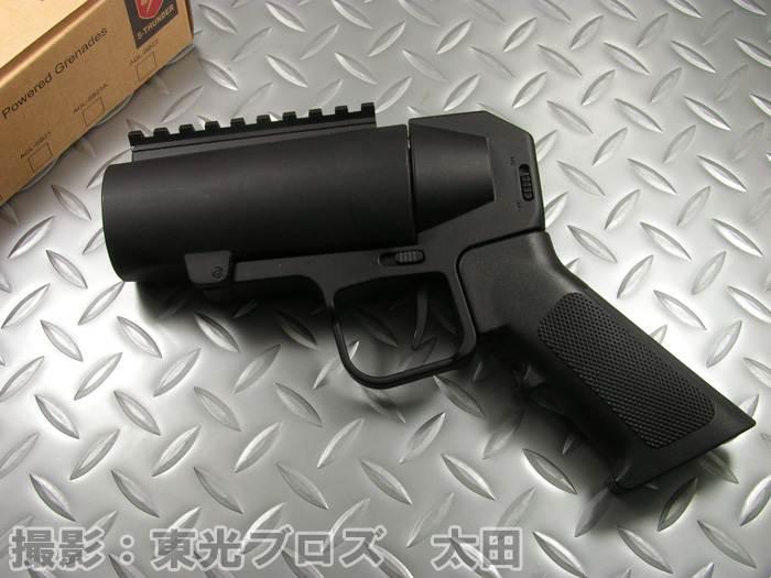 【送料無料!】 S-THUNDER ピストルグリップランチャー (ショートバレル マウントレール付)