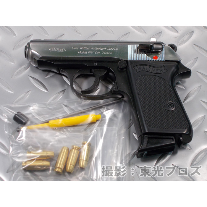 マルシン工業 スライドシルバーABS 発火モデルガン ワルサーPPK