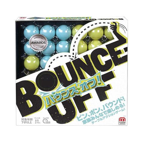 超歓迎された バウンス オフ CBJ83 日本語版 ボール ワンバウンド 陣取りゲーム テーブルゲーム パーティーゲーム 贈答品 バウンスオフ マテル