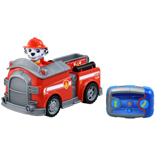 パウ 市販 パトロール ラジコンカー パウっとそうじゅう RCビークル マーシャル ファイヤートラック Patrol パウパトロール フィギュア 人形 消防車 PAW 格安