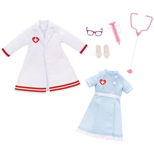 結婚祝い リカちゃん おいしゃさん 国内送料無料 かんごしさんドレスセット 着せ替え人形用洋服 お医者さん 看護師さん タカラトミー リカちゃん人形用