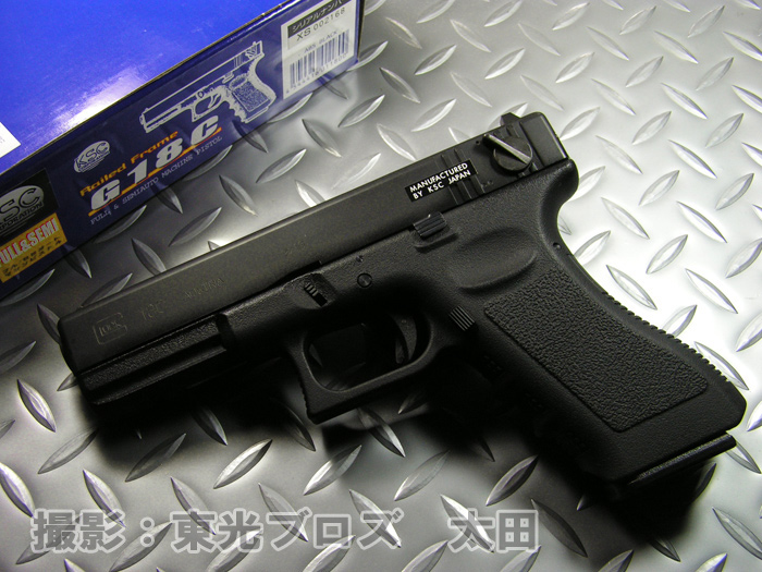 KSC gasugangurokku 18(GLOCK18 G18C)reirudofuremusemioto·全面自動機器手槍煤氣吹頭髮,後退的癌