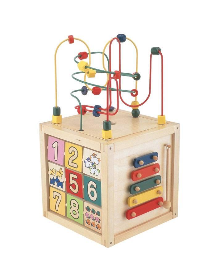 【送料無料!ポイント10倍!】森のあそび道具 森のあそび箱 【木製玩具 知育玩具 ベビートイ エドインター】