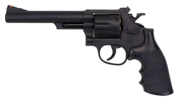 クラウンモデル No.13206 商い SW M19 .357コンバットマグナム 6インチ 全品ポイント増量 18才以上用 年末年始大決算 エアガン ホップアップエアリボルバー ブラック トイガン