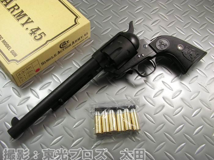 【送料無料!】 タナカ 発火モデルガン コルト シングルアクションアーミー COLT SAA 7 1/2インチ キャバルリー セカンドジェネレーション ヘビーウェイト