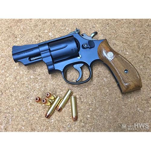 【送料無料!】 ハートフォード 発火モデルガン S&W M19 コンバットマグナム 2.5インチ ブルーブラックフィニッシュ ヘビーウェイト 木製グリップ付属