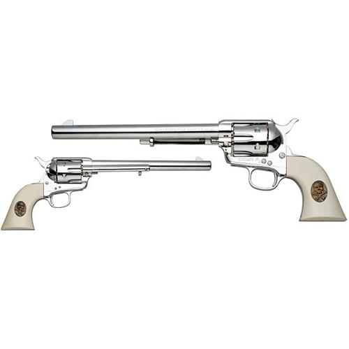 【送料無料!】 ハートフォード 発火モデルガン ガンフロンティア シックスシューター オールシルバー