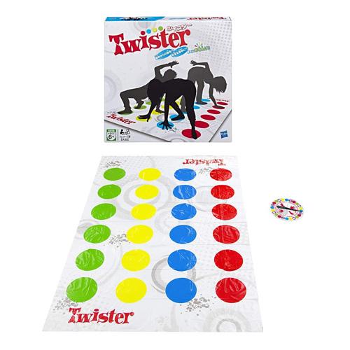 送料無料 ツイスター 2018年発売版 日本語版 国内正規品 Twister 全品ポイント増量 驚きの値段で ハスブロ 流行のアイテム ハズブロジャパン パーティゲーム Hasbro