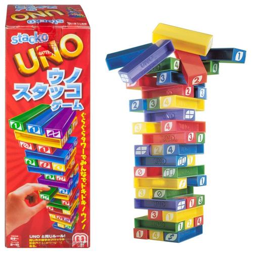 正規激安 送料無料 UNO ウノ スタッコゲーム 日本語版 国内正規品 パーティゲーム ジェンガ 市販 マテル バランス バランスゲーム