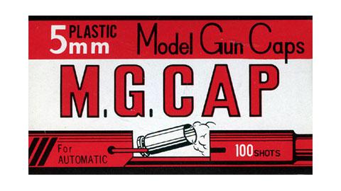 モデルガン専用 爆買い新作 キャップ火薬 5mm M.G.CAP 直営ストア 100発入 MGC モデルガンキャップ 全品ポイント増量 発火モデルガン用 カネコ 5ミリ MGキャップ