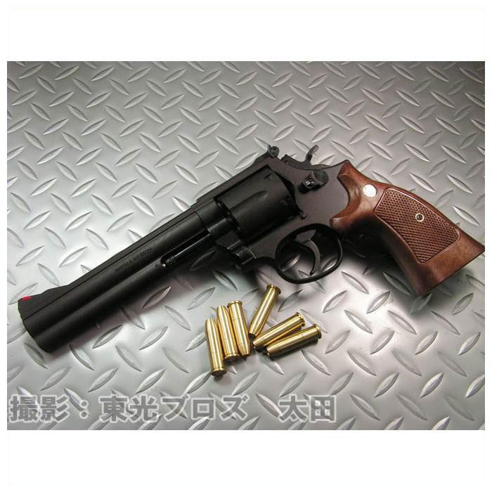 【送料無料!】 マルシン工業 発火モデルガン S&W M586 6インチ ブラックヘビーウェイト HW