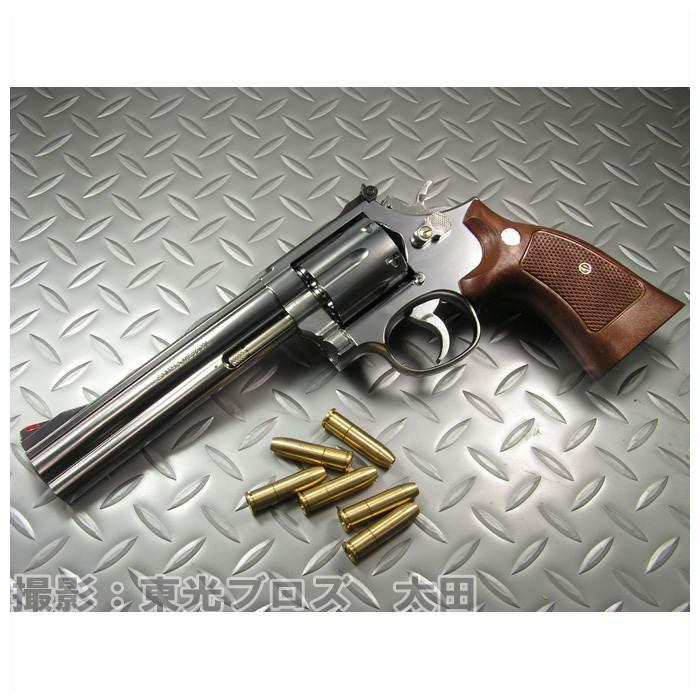【送料無料!】 マルシン工業 発火モデルガン S&W M686 6インチ シルバーABS