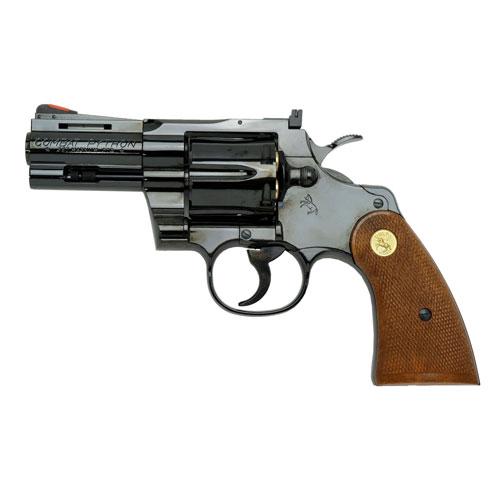 【送料無料!】 タナカ 発火モデルガン コルトパイソン .357マグナム 3インチ Rモデル スチールフィニッシュ