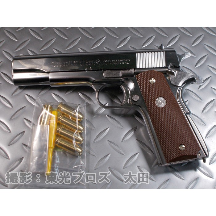 【送料無料!】 マルシン工業 発火モデルガン コルトガバメント M1911A1 シルバーABS