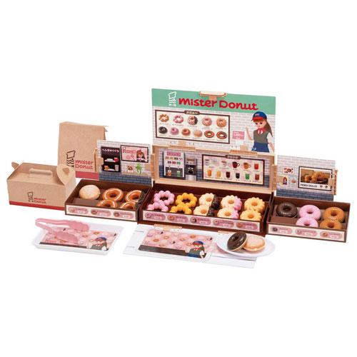送料無料 リカちゃん NEW ミスタードーナツへようこそ 2020年発売版 ドーナッツ屋さん おままごとシリーズ お店屋さんごっこ タカラトミー 購買