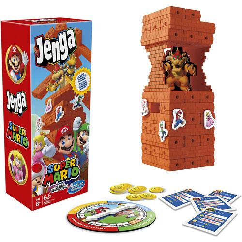 送料無料 格安 価格でご提供いたします ジェンガ スーパーマリオブラザーズ 海外並行輸入正規品 国内正規流通品 日本語版 E9487 パーティゲーム バランスゲーム ハスブロジャパン ハズブロゲーミング テーブルゲーム