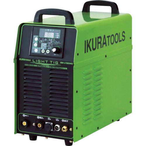 イクラ 100V/200V兼用フルデジタル制御DCパルスTIG溶接機 ISK-LT201AD