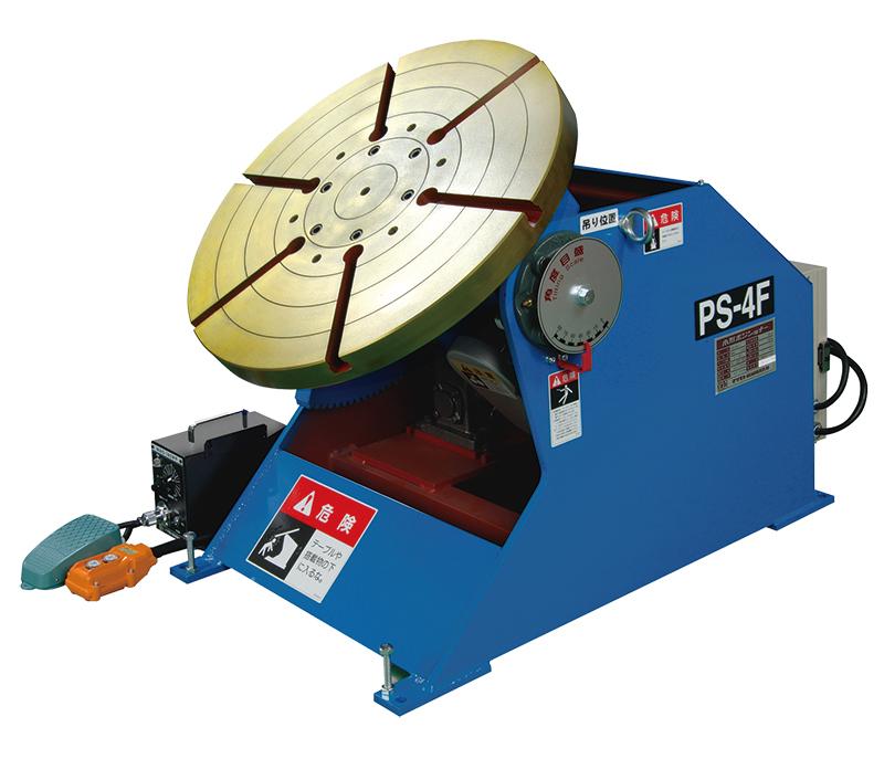 ポジショナー マツモト機械 MAC 小型ポジショナー 溶接チャックWPT-600付 PS-4XS 低速タイプ