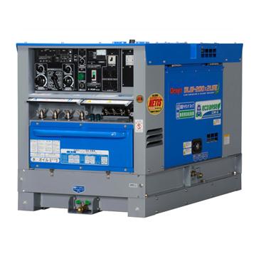 デンヨー 超低騒音型ディーゼルエンジン溶接機(ウエルダー) DLW-2002LSE(2人使用、自動アイドリングストップ、エコベース)