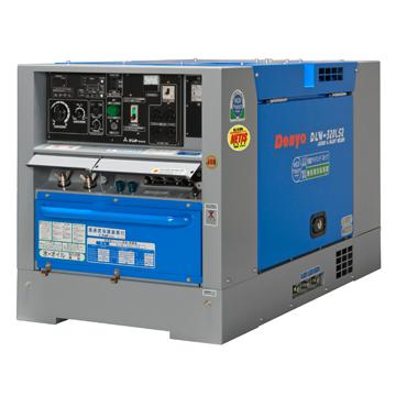 【送料無料、最安値に挑戦】デンヨー(Denyo)超低騒音型ディーゼルエンジン溶接機(ウエルダー)DLW-320LS2(自動アイドリングストップ)