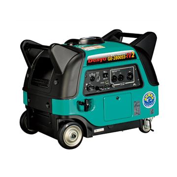 発電機 小型発電機 インバーター発電機【送料無料、最安値に挑戦】デンヨー(Denyo)小型ガソリン発電機 GE-2800SS-IV