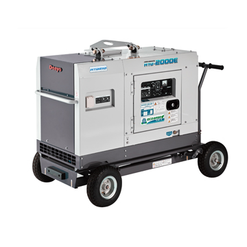 【送料無料、最安値に挑戦】デンヨー(Denyo) ハイブリッド発電装置(ディーゼルエンジン+バッテリー)HYB-2000E