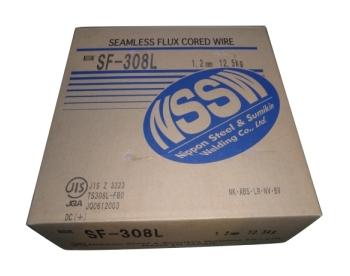 溶接ワイヤー ステンレス SUS304L 【送料無料】日鉄溶接工業 低炭素ステンレス用溶接ワイヤ SF-308L 1.2mm 12.5kg CO2溶接 半自動溶接 低炭素18%Cr-8%Niステンレス鋼用・CO2及びAr+20%CO2用