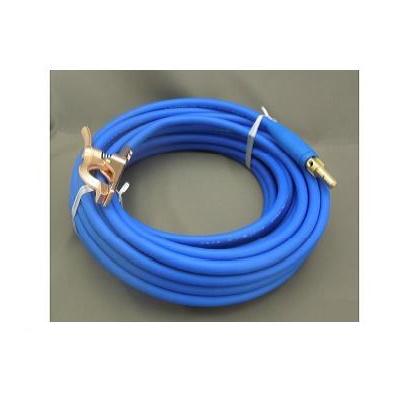 富士電線 溶接用電源ケーブル(キャプタイヤ) Fロン(青) 22sqケーブルジョイントJA300オス+アースクリップM300 30M