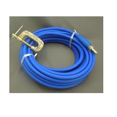 富士電線 溶接用電源ケーブル(キャプタイヤ) Fロン(青) 38sqケーブルジョイントJA300オス+アースクリップEB300 10M