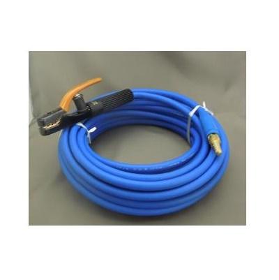 富士電線 溶接用電源ケーブル(キャプタイヤ)Fロン(青) 38sq 三立電器ケーブルジョイントJA300オス+三立電器溶接棒ホルダーS300 20M