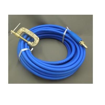 富士電線 溶接用電源ケーブル(キャプタイヤ) Fロン(青)38sq 三立電器ケーブルジョイントJA300オス+三立電器アースクリップEB300 30M