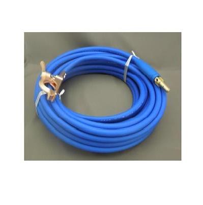 富士電線 溶接用電源ケーブル(キャプタイヤ)Fロン(青) 38sq 三立電器ケーブルジョイントJA300オス+三立電器アースクリップM300 30M