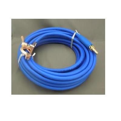 富士電線 溶接用電源ケーブル(キャプタイヤ)ホルダータイプFロン(青)38sq 三立電器ケーブルジョイントJA300オス+三立電器アースクリップM300 30M