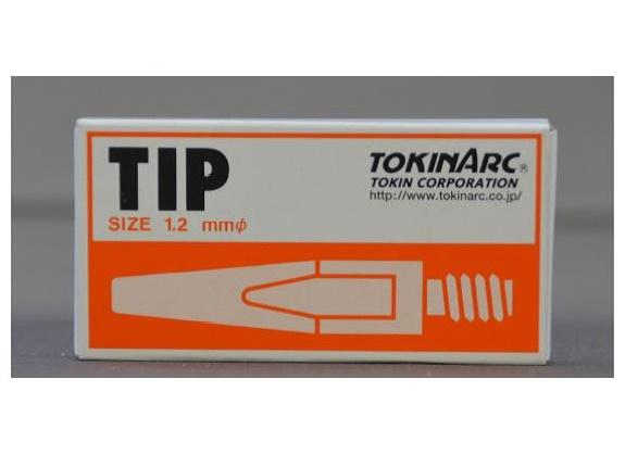 トーキン CO2溶接用チップ(Dチップ) 023010 1.2mm*40L お得な200本入り