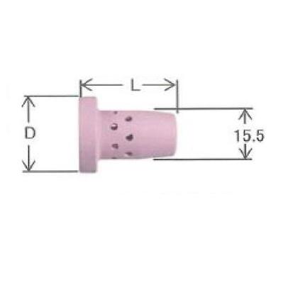 ダイヘン CO2溶接用オリフィス 10個入り U2526D03