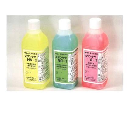 タセト ステンレス焼け取り電解液(弱酸性) A-1 4L