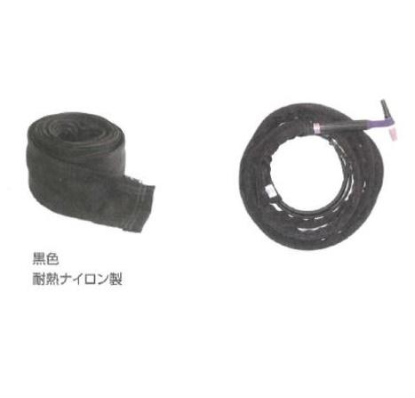 ウエルドテック TIG溶接用ケーブルカバー(チャック式) TC-4-7.8Z 幅100mm*8M
