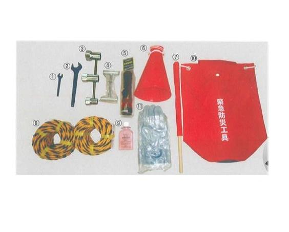 高圧ガス緊急防災工具 GW-12(車輪止め付)
