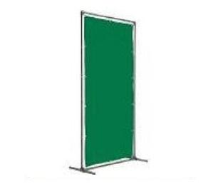 遮光フェンス トラスコ 溶接遮光フェンス 接続型 固定足 深緑 YF1015SK-DG(1000mm×1500mm)遮光カーテン