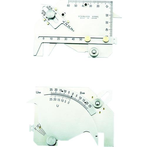 測定工具 トラスコ 溶接ゲージ TWGU-8M