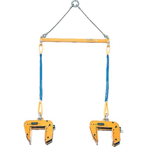 パネル吊りクランプ スーパーツール パネル吊り天秤セット PTC250S 0.5T用