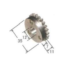 ダイヘン アルミ用送給ロール(1.0mm-1.2mm) K1821W00