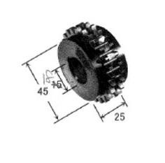 ダイヘン フラックスワイヤ用送給ロール(4.8mm) K419E00